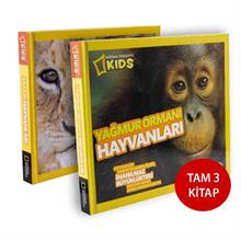 National Geographic Kids - Pop Out Seti (3 Kitap)