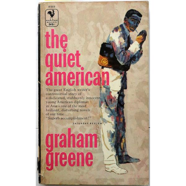 graham greene s the quiet american theme