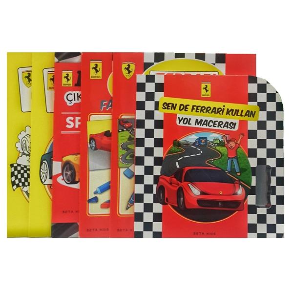 Ferrari Aktivite Ve Boyama Kitapları ürünler Beta Kids